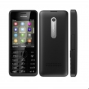 Nokia 301 Black Single SIM