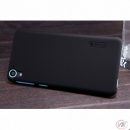 Nillkin Frosted Shield Black pro BlackBerry Q30 Silver Ed.