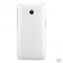 Nillkin Frosted Shield White pro BlackBerry Q30 Silver Ed.